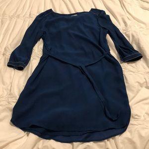 H&M blue tunic dress sz 14. Excellent condition!